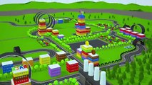 Dessin animé des voitures course avec voiture accidents voiture les dessins animés pour enfants pour enfants vidéos