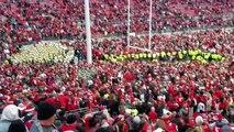 Ohio State football Ohio Stadium sings Sweet Caroline after Defeating Michigan in Shoe 201