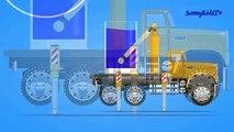 Et les couleurs couleurs équipement pour Apprendre mélange monstre rue camions Véhicules construction