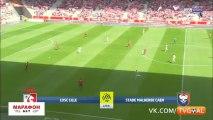 Lille 0-2 Caen - les Buts et Résumé - 20.08.2017 ᴴᴰ