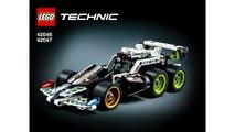 Construire extrême coureur examen Vitesse Lego technic 42046 42047 police lego