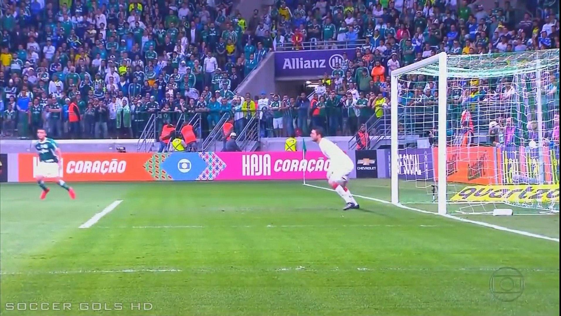 Palmeiras 2x1 São Paulo Gols Campeonato Brasileiro Série A 2016 Globo HD