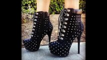 Latest Unique High Heel Designs In Black For Woman - Beautiful Black Heels Collection For Ladies