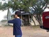 Flèches gros arc mâle cerf exotiques jachère Jeu obtient chasseur chasse vieux an jeunesse Texas 8