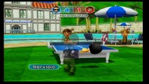 Wii Sport Resort Ping Pong - Game 1