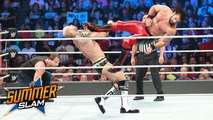 Dean Ambrose, Seth Rollins vs Cesaro, Sheamus - Tag team match for the WWE Raw Tag Team Championship - WWE SummerSlam 20 August 2017 - Dailymotion Full Match - Seth Rollins, Dean Ambrose vs Cesaro, Sheamus - SummerSlam 2017 - WWE