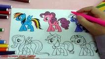 Et Livre Collectionneur coloration Oeuf épisode petit crinière mon poney jouet 6 compilation mlp surprise