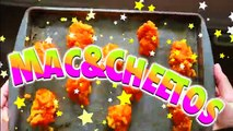 TASTING BURGER KINGS MAC N CHEETOS! DIY Mac and Cheetos! DIY Burger King Mac and Cheetos