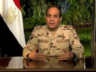 شاهد .. كلمة المشير \ عبد الفتاح السيسي إلى الأمة