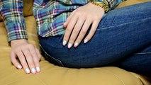 Fácil gradiente uñas tresillo en Diseño de uñas gradiente de casa fácilmente Ombre