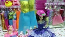Vui Chơi Với Bé Yêu - Bộ Sưu Tập Thời Trang Búp Bê Công Chúa Barbie - Chị Cầu Vồng.