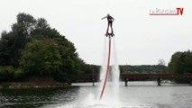 On a testé le flyboard sur l'île de loisirs à Cergy