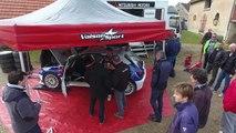 Sebastien Loeb avec léquipe Vaison Sport en Peugeot 306 Maxi