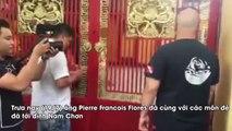 Võ sư Vịnh Xuân Pierre Flores đến thăm đình Nam Chơn, Nam Huỳnh Đạo từ chối gặp mặt