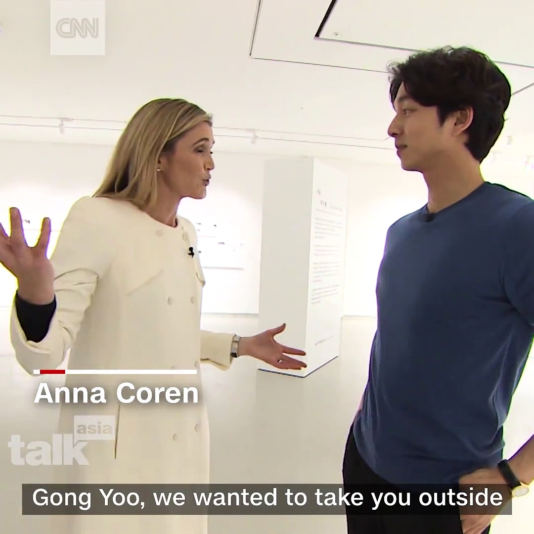 Gong Yoo xuất hiện trên CNN bày tỏ những tiếc nuối khi là người nổi tiếng