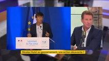 """""""Ce gouvernement tente d'asphyxier Nicolas Hulot"""" - Yannick Jadot"""