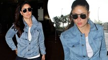 Kareena Kapoor Slays In A Double Denim Airport Look