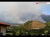 TG 17.07.12 Incendi in Puglia: fiamme a Vieste, paura per il parco del Pollino