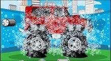 Clin doeil sur pro monster truck Jeep réparation de puits de réparation VUS tuning