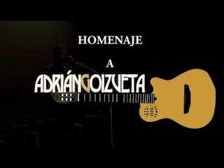 Homenaje Adrián Goizueta