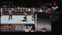 WWE2K17 SummerSlam 2017 WWE SmackDown Women Championship Natalya Vs Naomi