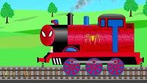Entrainer voiture lavage homme araignée Entrainer pour enfants les trains pour enfants