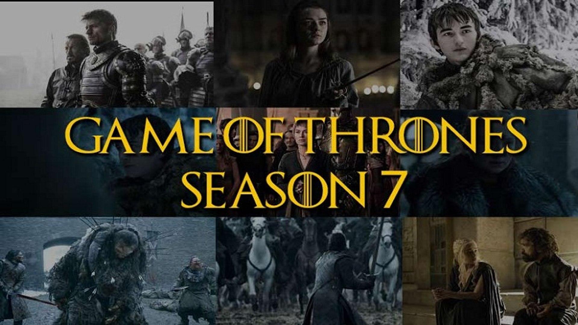 GOT [S07E07] Leaked Scenes !! Game Of Thrones 7x07 Season 7 Episode 7 Online