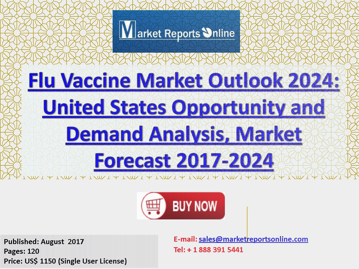 Flu Vaccine Market Outlook 2024: United States Opportunity and Demand Analysis, Market Forecast 2017