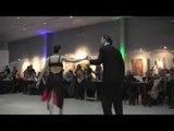 Exhibición de tango en Si Tango, la milonga de San Isidro, Buenos Aires