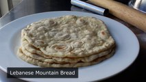Lebanese Mountain Bread - How to Make Lebanese-Style Flatbread-DfObqgc0TnQ