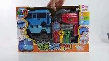 Et autobus couleur Comment Apprendre petit faire faire le le le le la à Il outils jouet avec tayo dino