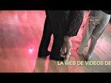 Moscu, Irina Peretyatko (Moscú) y Carlos Neuman (BA) bailando tango en milonga Rusia