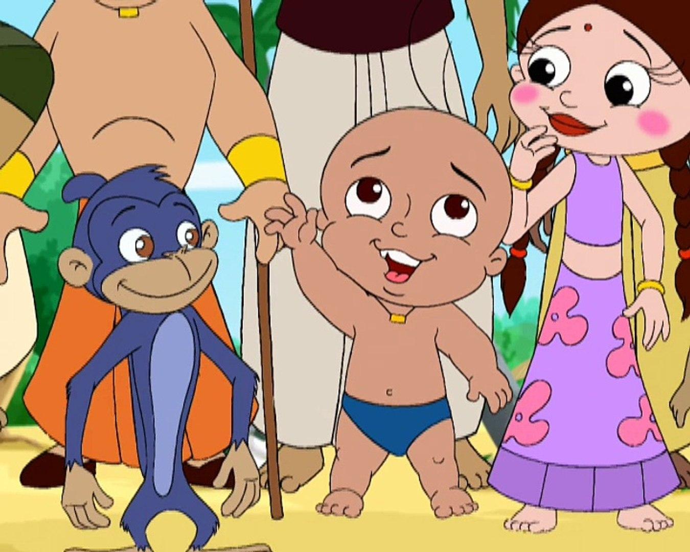 Jadugar Raju Chota Bheem In Hindi Hd Cartoons Episode 04 Video Dailymotion