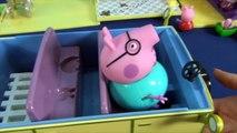 Cumpleaños de Peppa Pig Peppa George preocupado antes de llegar George