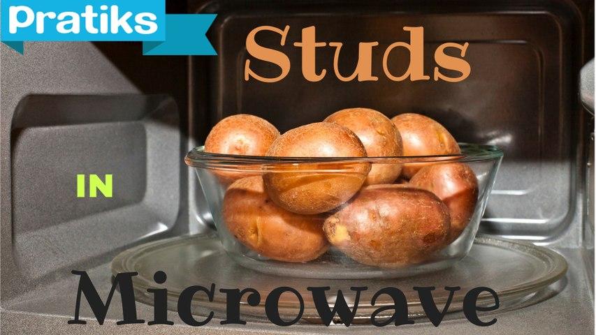 How to microwave potatoes