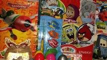 Des œufs pour jouets enfants pour et jouets Nouveau série Kinder Surprise surprise Masha Medved vidéo