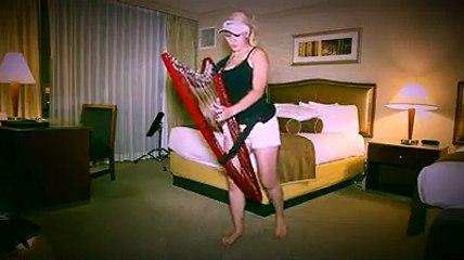 Despacito tocado na harpa