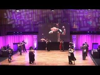 Mundial de Tango 2017,  Semifinal pista Ronda 5