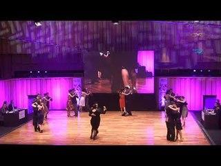 Mundial de Tango 2017,  Semifinal  pista Ronda 4