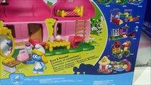 Blocs bâtiment Californie filles maison Méga petit par lintermédiaire Bloks smurf smurfettes playset 10751 youtube