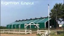 İstanbul Zekeriyaköy 2-Göçmen's Ranch Binicilik ( At Çiftliği ) - 4.2Kw/s MPPT Güneş Enerjisi Sistemi - Egetron Enerji