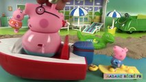 Peppa Pig Bateau Hors-Bord des vacances Histoire Holiday Splash Speedboat Jouets en frança