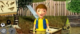 Détective creuser dinosaures Jeu enfants film Jour Dino Dino Dino