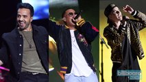 Luis Fonsi & Daddy Yankee's 'Despacito' Feat. Justin Bieber Becomes Second Single to Lead Hot 100 for 15 Weeks   Billboard News