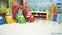 Bébé balle des voitures les couleurs marteau apprentissage patrouille patte jouet jouets vers le haut en haut vidéo en bois weebles pop lear