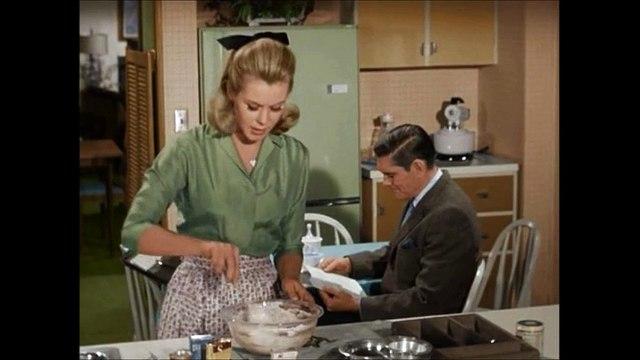 Bewitched (1964-1972) A Nice Little Dinner Party-Tatlı Cadı 1.Sezon 19.Bölüm Türkçe Altyazı