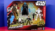 Star Wars Toys Hero Mashers Return of the Jedi, Luke Skywalker, Dart Vader, Scout Trooper,