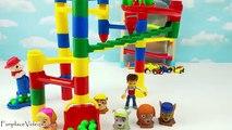 Enfants les couleurs enfants Apprendre apprentissage marbre labyrinthe patrouille patte rampe tout petit jouet vidéo Gumball