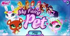 Fée mon animal de compagnie Dans le Jouer le jeu Winx Personnalisez votre animal de compagnie nous lièvre