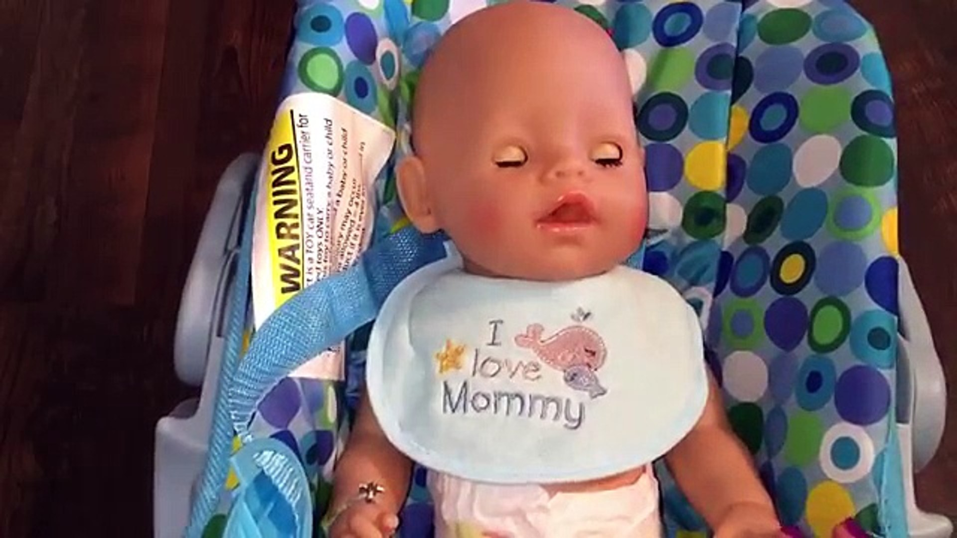 Живые Детка ребенок родился автомобиль создания кукла вскармливание зеленый в в в в сиденье игрушка